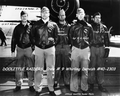 Doolittle CREW 9 Nav. Capt Thomas Griffin, later, 319thBG B-26 in N. Africa /POW - Fold3.com