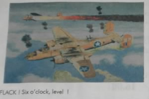 FLAK, 6 O'clock LEVEL  by RM Johnston