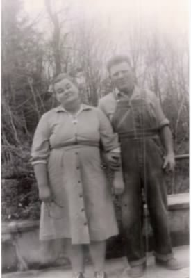 Ovel (Oval) Emler Sr. and wife