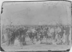 Randolph Family Reunion Early 1900's Commanche County, Texas