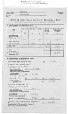 American Zone: Report of Selected Bank Statistics, February 1947 › Page 11 - Fold3.com