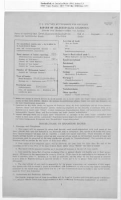 American Zone: Report of Selected Bank Statistics, August 1947 › Page 20 - Fold3.com