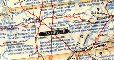 MAP OR TENNESSEE - Fold3.com