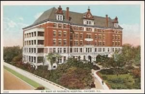St. Mary's Hospital.  Chicago, Illinoia