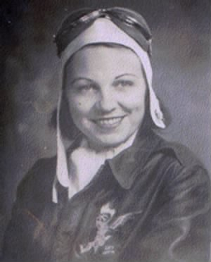 Mary Helen Gosnell Chappell, one of RWO women that ferried airplanes to Tinian Island.