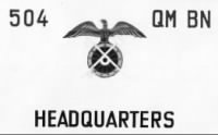 504th Quatermasters Battalion, Mannheim, Germany - November 1945