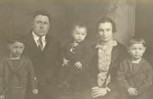 William Karel and Jennie and Kids