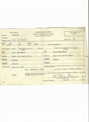 John W Montgomery b31 March 1896 Birth Certificate - Fold3.com
