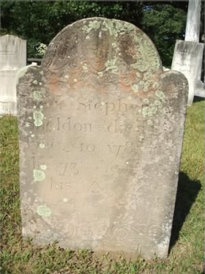 Pvt Stephen Sheldon Army Headstone