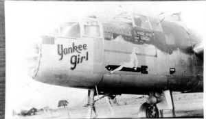 "Forrest flew Combat in the ""Yankee Girl"""