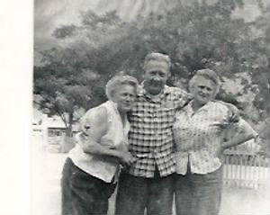 Helen, John and Mary Bleck