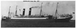 The Meire Children arrived aboard the Steamship KROONLAND
