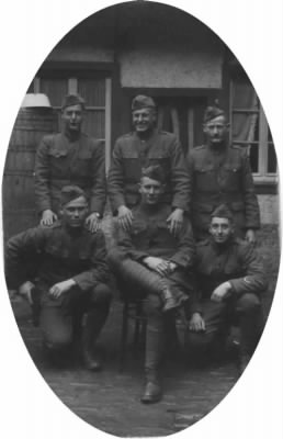 Lowell with Company - France WWI