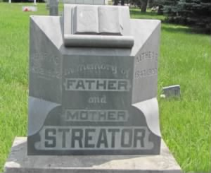 grave of Henry C Streator