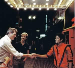 Rock Hudson, Marc Christian, Michael Jackson