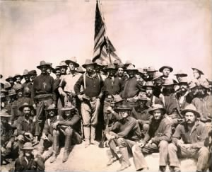 Colonel Roosevelt and his Rough Riders