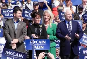 Sarah Palin and John McCain, 2008