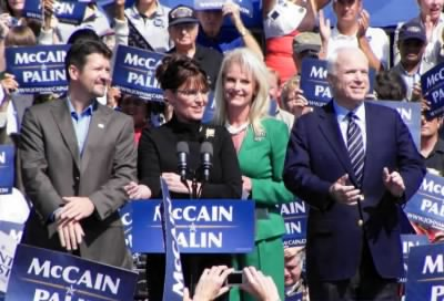 Sarah Palin and John McCain, 2008 - Fold3.com