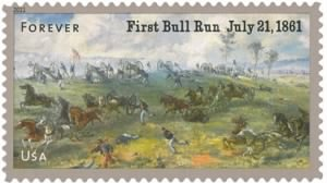 First Battle Of Bull Run Stamp