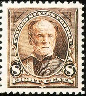William T. Sherman Stamp 1895.gif