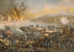 The Battle of Fredericksburg by Kurz and Allison.