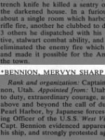 Bennion, Mervyn Sharp