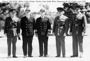 Senior Marine Corps and Navy officers