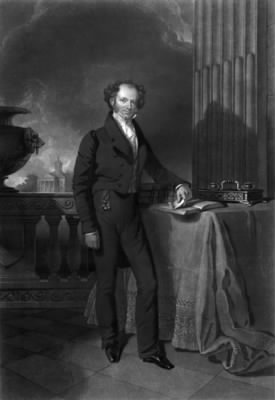 Portrait of Van Buren as a younger man