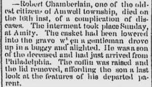 Robert Chamberlain Funeral Wash Daily Rep 20 May 1889.JPG