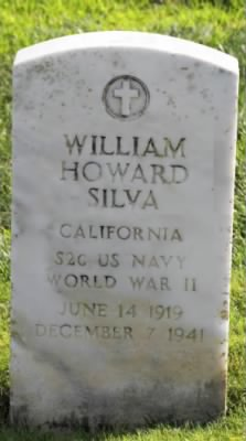 William Howard Silva Headstone