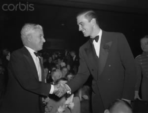 Charlie Chaplin Shaking Hands with Franklin Roosevelt Jr..jpg