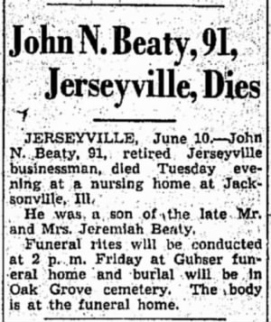 John N Beaty 1946 Death Notice.jpg