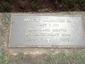 Jacob Ambrose Rev War Grave.jpg