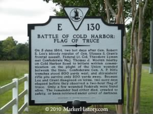 e-130 battle of cold harbor-flag of truce.jpg