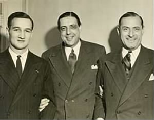 Tom Harmon and Fritz Crisler,Frank Kridel.jpg