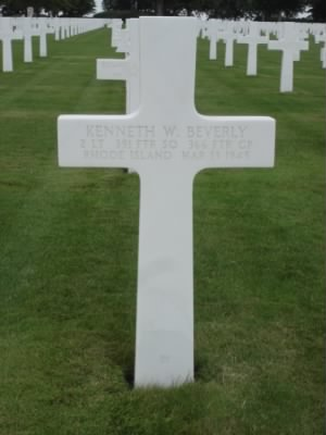 Second Lieutenant, Kenneth Watson Beverly Gravestone .jpg