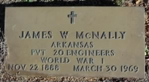 McNally, James W-Military Marker.JPG