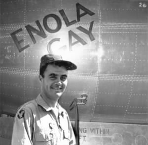 Paul Tibbets & Enola Gay.jpg