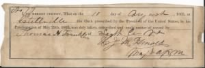 1865 T.H.Franklin oath of allegiance.jpg