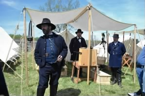 General Grant and General Sheridan at Appomattox Court House