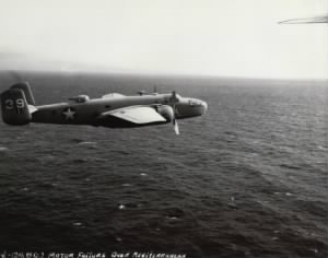 B-25 of the 12th BG, Engine Failure over the Mediterranean.jpg