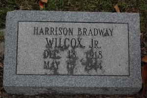 Harrison Broadway Wilcox, Jr. Headstone.jpg