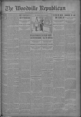1919-Jan-25 The Woodville Republican, Page 1