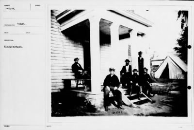 Mathew B Brady Collection of Civil War Photographs › B-5154 Headquarters. - Fold3.com