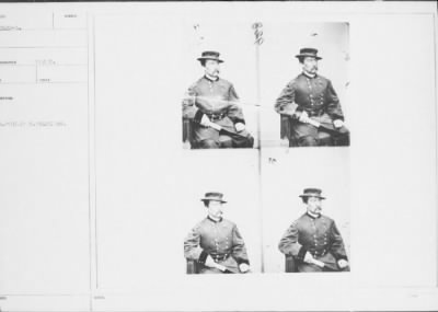 Mathew B Brady Collection of Civil War Photographs › B-2520-A [Illegible]. Philip H. Sheridan. - Fold3.com