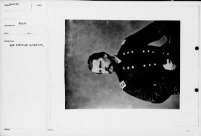 Mathew B Brady Collection of Civil War Photographs › B-4165 Gen Winfield S. Hancock. - Fold3.com