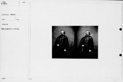 Mathew B Brady Collection of Civil War Photographs › B-3803 Gen. Charles P. Stone. - Fold3.com
