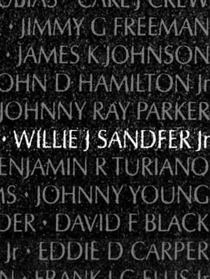 Willie J Sandfer Jr
