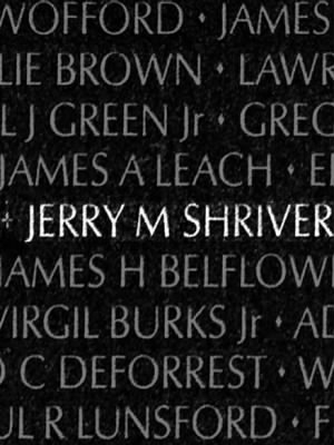 Jerry Michael Shriver