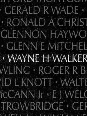 Wayne Howard Walker